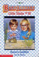 Baby-sitters Little Sister 16 Karens Goldfish cover