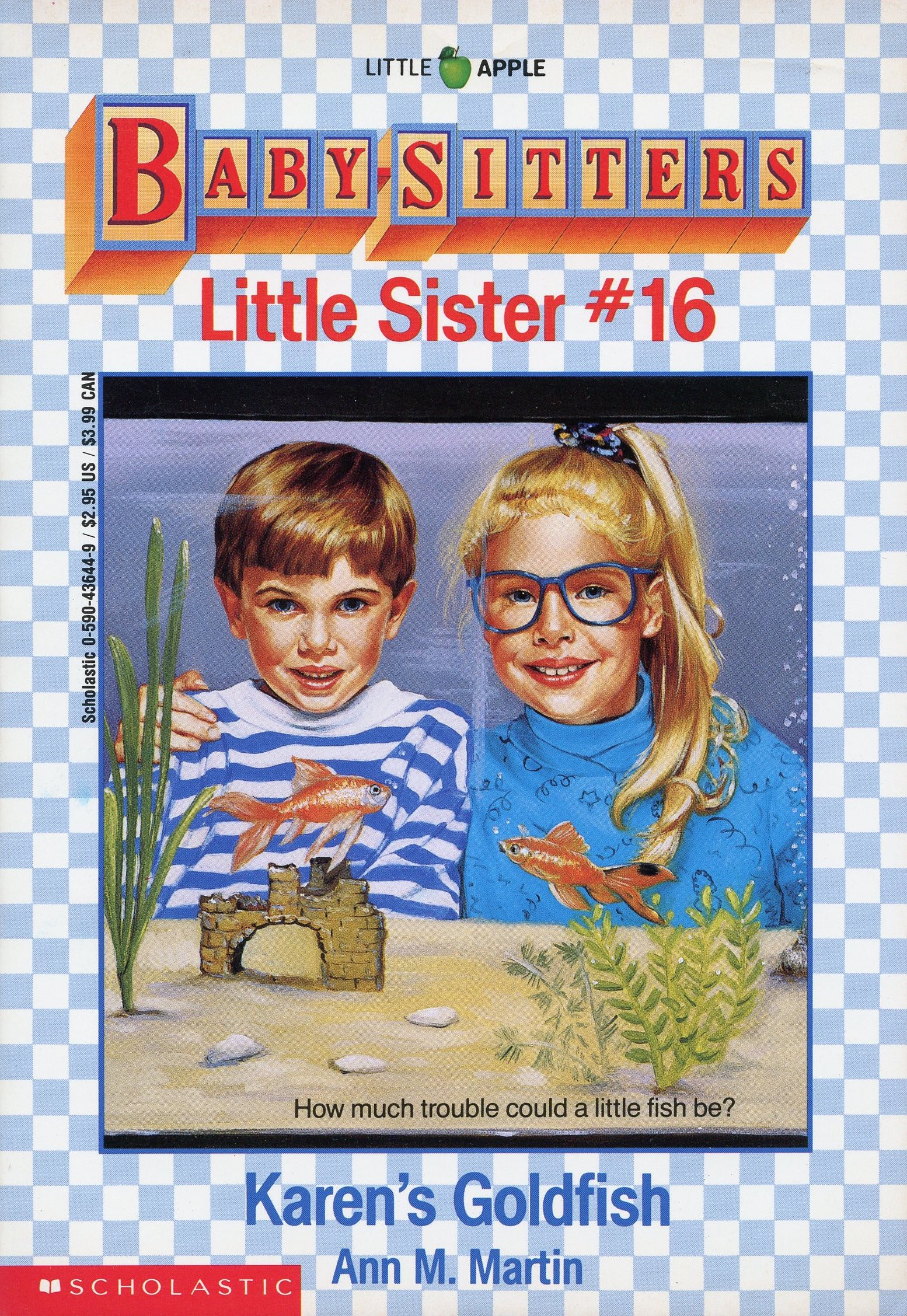 Karen S Goldfish The Baby Sitters Club Wiki Fandom Powered By