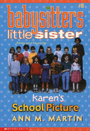 Baby-sitters Little Sister 5 Karens School Picture reprint cover