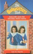 Baby-sitters Club 21 Mallory and the Trouble with Twins UK cover