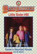 Baby-sitters Little Sister 90 Karens Haunted House cover