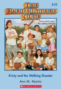 Baby-Sitters Club 20 Kristy and the Walking Disaster cover