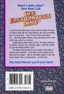 Baby-sitters Club 10 Logan Likes Mary Anne reprint back cover