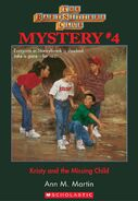 BSC Mystery 4 Kristy Missing Child ebook cover