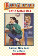 Baby-sitters Little Sister 14 Karens New Year ebook cover
