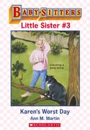 Baby-sitters Little Sister 3 Karens Worst Day ebook cover