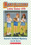 Baby-sitters Little Sister 74 Karens Softball Mystery ebook cover