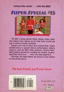 Super Special 15 Baby-sitters European Vacation back cover