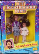 Mary Anne Jenny 1991 Remco dolls box front