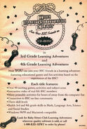BSC CD games 3rd 4th grade Learning Adventures bookad from 128 1stpr 1999
