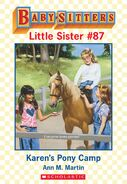 Baby-sitters Little Sister 87 Karens Pony Camp ebook cover