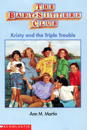 Kristy and the Triple Trouble Baby-sitters Club mini book cover