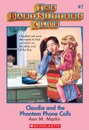 Baby-sitters Club 2 Claudia and the Phantom Phone Calls cover stock image