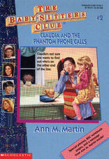 Baby-sitters Club 2 Claudia Phantom Phone Calls reprint cover