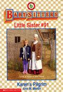 Baby-sitters Little Sister 91 Karens Pilgrim cover