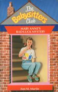 Baby-sitters Club 17 Mary Anne's Bad Luck Mystery UK cover