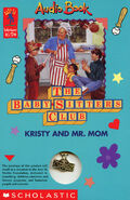 Baby-sitters Club 81 Kristy and Mr Mom audio Book on Tape front