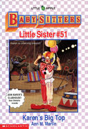 Baby-sitters Little Sister 51 Karens Big Top cover