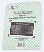 Little Sister Photo Scrapbook Book and Camera Pack back