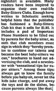 1989 April 30 NYT Form Your Own BSC kit details