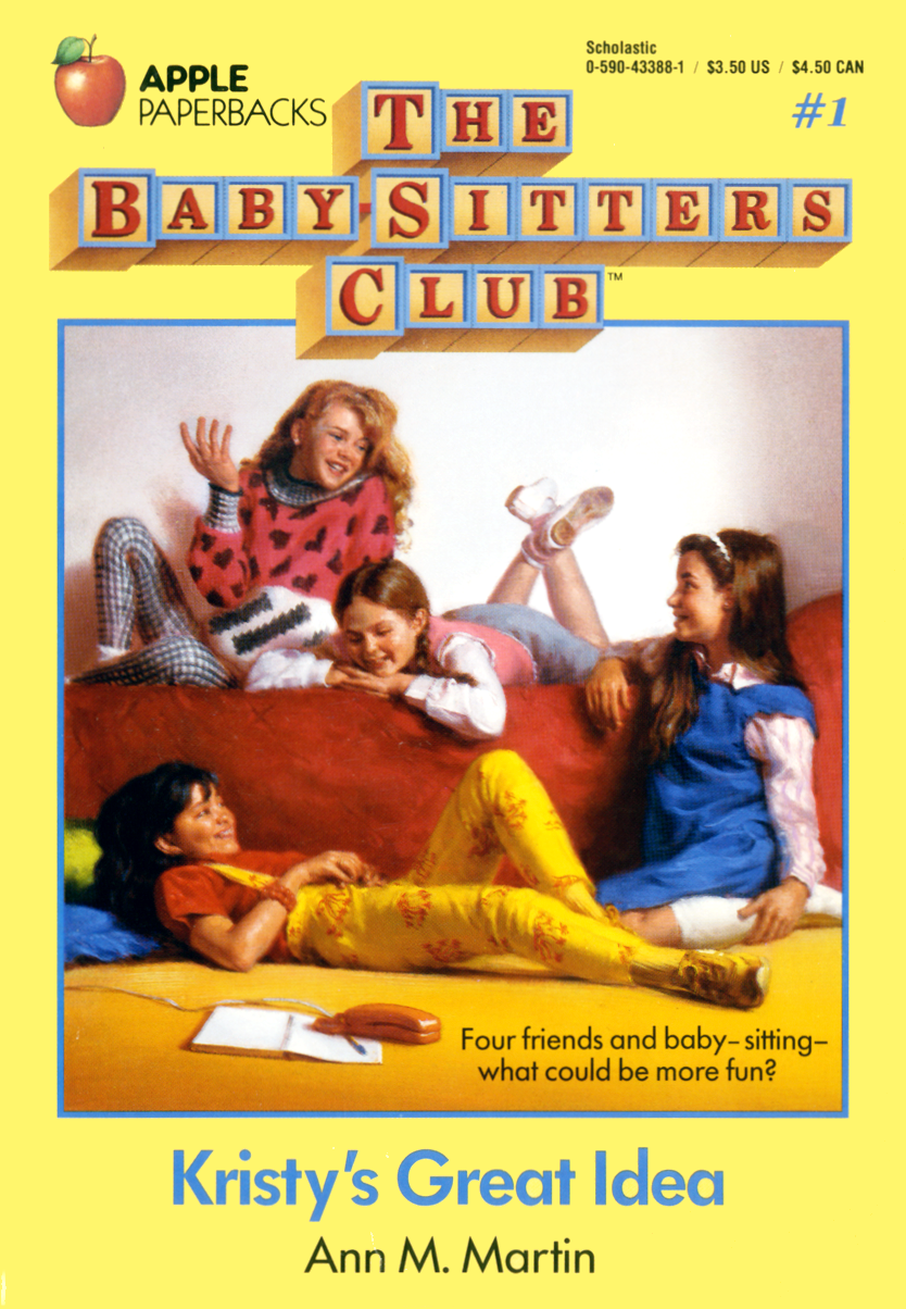 Image result for the babysitters club book #1