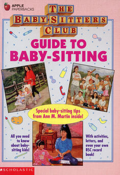 Baby-sitters Club Guide to baby-sitting cover