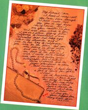 Chain Letter Mary Annes card to Cam Geary