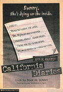 Sunny Diary Two California Diaries 6 bookad from M34 1stpr 1998