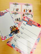 BSC notepad memo board bookplates