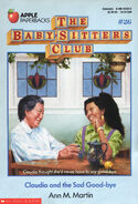 Baby-sitters Club 26 Claudia Sad Good-bye original cover