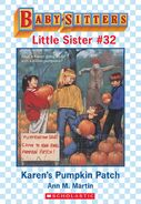 Baby-sitters Little Sister 32 Karens Pumpkin Patch ebook cover