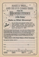 Make a Wish Giveaway bookad from BLS SS1 1stpr 1991