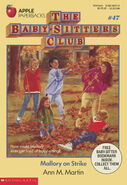 Baby-sitters Club 47 Mallory on Strike original cover 1stprint