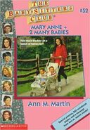 BSC - Mary Anne + 2 Many Babies 1996 reprint cover