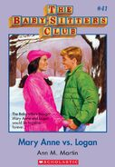 BSC 41 Mary Anne vs Logan ebook cover
