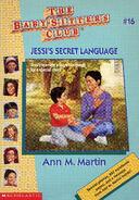 Baby-sitters Club 16 Jessis Secret Language reprint cover