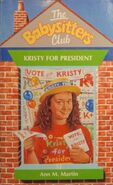 Babysitters Club 53 Kristy for President UK cover