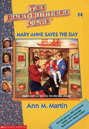 Baby-sitters Club 4 Mary Anne Saves the Day reprint cover