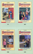 Baby-sitters Little Sister 44 Karens Big Weekend trading cards front