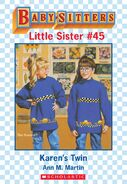 Baby-sitters Little Sister 45 Karens Twin ebook cover