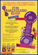 1994 Baby-sitters Club TV show VHS KidVision trade print ad