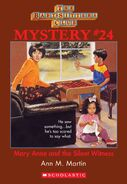 BSC Mystery 24 Mary Anne Silent Witness ebook cover