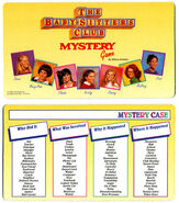 BSC Mystery Game Mystery Case card front and back