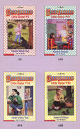 Baby-sitters Little Sister 41 Karens School trading cards front