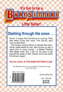 Baby-sitters Little Sister 92 Karens Sleigh Ride back cover