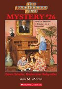 BSC Mystery 26 Dawn Schafer Undercover Baby-sitter ebook cover