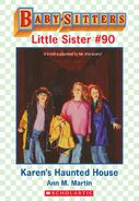 Baby-sitters Little Sister 90 Karens Haunted House ebook cover