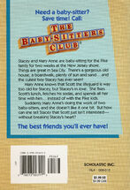 Baby-sitters Club 8 Boy-Crazy Stacey reprint back cover
