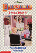 Baby-sitters Little Sister 8 Karens Haircut cover