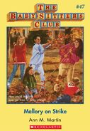 Baby-Sitters Club 47 Mallory on Strike cover
